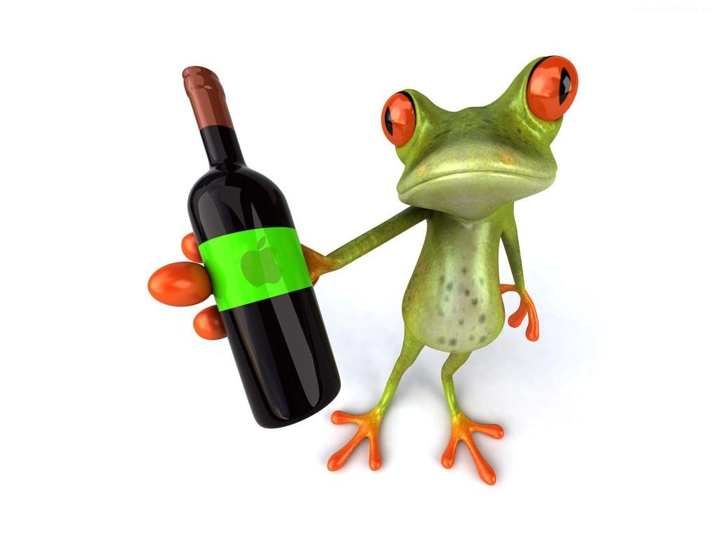 żaba_wino