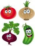 warzywa wesołe
